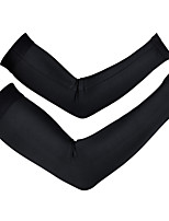 Outdoor Sunscreen Lycra Cycling Armwarmers Sports Long Sleeves Breathable Driving Arm Sleeves S-XXL