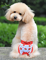FUN OF PETS® Sweety Strawberry Pattern  Physical Pant for Pets Dogs (Assorted Sizes and Colours)
