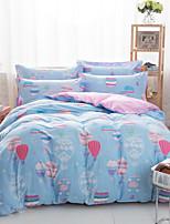 ballnoon jogo de cama de algodão de 4pcs quatro temporadas uso