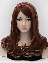 Fashion Charming Women   Medium Long  Auburn Harajuku  Lolita Party Wigs