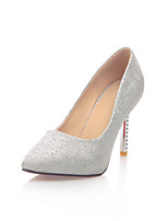 Women's Shoes Microfibre Spring / Summer / Fall Heels Heels Wedding / Office & Career / Party & Evening