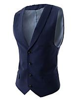Men's Casual Work Sleeveless Regular Vest