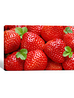 VISUAL STAR®Fruit Strawberry Canvas Printing Art Digital Printing Stretched Canvas Wall Picture