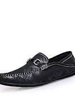 Men's Formal Genuine Leather Dress Shoes Fashion Slip-on Driving Shoes for Office/Meeting/Wedding