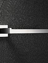 Anneau porte-serviette - Contemporain - Miroir Poli - Fixation au Mur