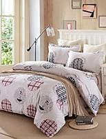 круглый набор хлопок постельное белье из 4шт четырех сезонов использования
