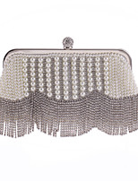 L.WEST®  Women's  Event/Party / Wedding / Evening Bag Pearl Diamonds Delicate Handbag