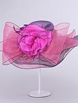 Women Cute/Party Summer Linen Floppy Hat
