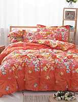 floral coton literie ensemble de 4pcs