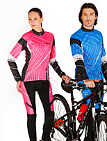 REALTOO Hot Selling  Long Sleeve Lovers & Couples Cycling Suit