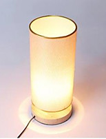 LED Bamboo And Wood Desk Lamp