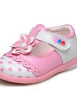 Girl's Flats Spring / Fall Comfort/ Flats Leatherette Outdoor / Casual Flat HeelApplique / Hook &