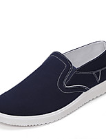 Men's Shoes Canvas Outdoor / Casual / Athletic Fashion Sneakers / Slip-on Outdoor / Casual / Athletic Flat Heel Others Black / Blue / Red