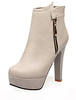 Women's Boots Spring / Fall / Winter Heels / Platform / Fashion Boots Leatherette  Casual Chunky Heel Others