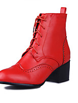 Women's Boots Spring / Fall / Winter Fashion Boots / Combat Boots Leatherette/ Fashion Martin boots Tie Ladies Boots