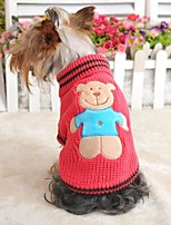 FUN OF PETS® Lovely Julia's Bear Sweather for Pets Dogs(Assorted Sizes and Colours)