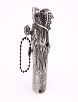 Adult Gray Metal Head of Dragon Lighters Toys