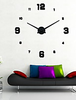 Uermerstar DIY Fashionable Style Art Modern Room Large Wall Clock Diameter 39 in