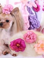 Todas las Estaciones - Rosado / Rosa - Boda / Cosplay - Terylene - Accesorios de Pelo - Perros / Gatos