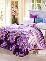 Fleece fabric blanket summer comforter Air conditioning throw winter soft bedsheet for single or double bed