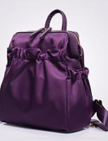 VUITTON ® Women PU Bucket Backpack / School Bag / Travel Bag - Purple / Blue / Red / Black