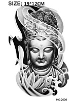 (1pcs) Armband Temporary Tattoo/Mysterious Women Buddha/Waterproof Big Size Fake Tatoo Sticker Art/Armband,Shank,Chest