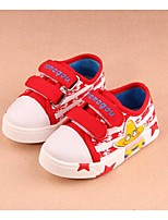 Baby Shoes Casual Canvas Fashion Sneakers Black/Red