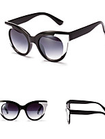 100% UV400 Cat Eye Colour Mixture Retro Sunglasses