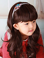 The New Selling Children's Long Curly Hair Wig Girl's Wig