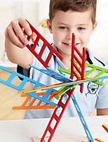 25pcs Educational Ladder Stacker Toys  Wooden Colorful Bauble