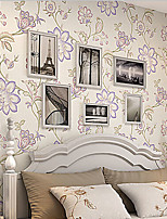 New Rainbow™ Retro Wallpaper Art Deco Upset Wall Covering Non-woven Fabric Wall Art
