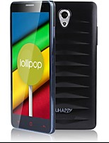 Uhappy UP520 MTK6582 Quad-Core Android 5.0 WCDMA Bar Phone w/ 5.0