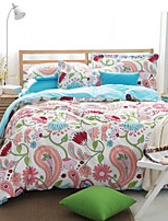Super Nice Floral Bedding Set Of 4pcs Four Seasons Use