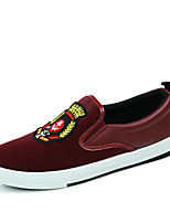 Men's Shoes Outdoor / Office & Career / Athletic / Casual PVC Loafers Black / Blue / Red