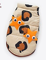 FUN OF PETS® Warm Sea Star Decorated Winter Vest for Pets Dogs (Assorted Sizes)