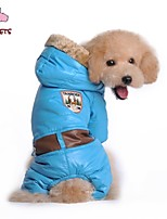 FUN OF PETS® Military Style Puffy Jacket with Hoodie for Pets Dogs (Assorted Sizes and Colours)