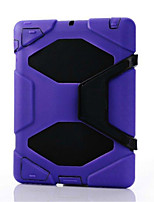 Newest waterproof shockproof dirtproof Case shell +Belt Clip Holster For iPad 4/3/2(Assorted Color)