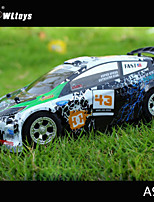 WLtoys A989 1:24 Remote Control Car Mini Source of power Car Type RC Car Toys for Children 2.4GHz