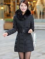 Women's Long Sleeve Casual Thick Big Sizes Winter Cotton Coat(XL-6XL)