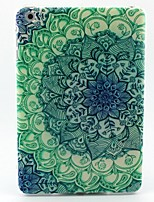 Peacock Petals Pattern Soft TUP Case for iPad mini 3, iPad mini 2, iPad mini