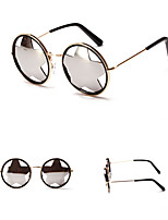 100% UV400 Round Fashion Five Star Mirrored Sunglasses
