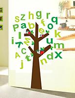 Children's Room For Cartoon English Alphabet  Wall Stickers