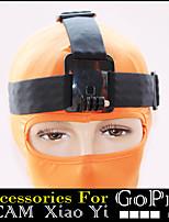 Cinghia testa per Go Pro eroe 1.234 fotocamera sportiva xiaomi yi sjcam sj4000 black edition accessori GoPro