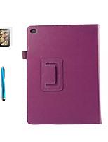 Pour Antichoc / Avec Support / Clapet Coque Coque Intégrale Coque Couleur Pleine Dur Cuir PU pour Apple iPad Air 2 / iPad Air