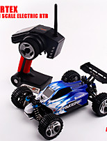 Wltoys A959 2.4G 4CH 4WD Shaft Drive RC Car High Speed Stunt Racing Car Source of power Car Type RC CarRemote Control