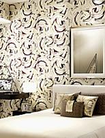 nouvelle rainbow ™ art contemporain de papier déco personnalité mur de cercle moderne couvrant l'art non-tissé mur de tissu