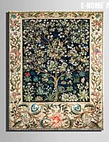 Fantasie / Botanisch Canvas Afdrukken Eén paneel Klaar te hangen , Verticaal