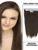 Nastro brasiliano estensione dei capelli 18