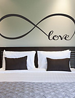 Wall Stickers Wall Decals Style Cycle of Love PVC Wall Stickers