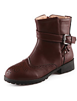 Women's Shoes Low Heel Round Toe Boots Casual More Colors available